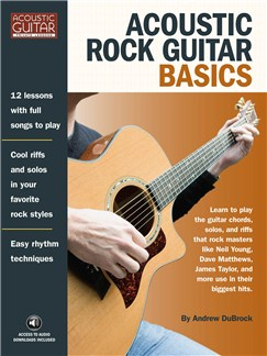 Andrew DuBrock: Acoustic Rock Guitar Basics Books | Guitar Tab
