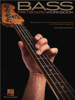 Chad Johnson: Bass Fretboard Workbook Books | Bass Guitar