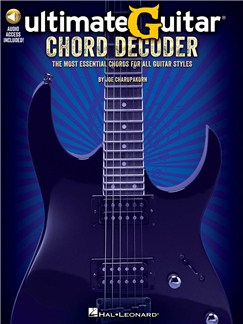 Ultimate-Guitar Chord Decoder: The Most Essential Chords For All Guitar Styles (Book/Online Audio) Bog og Digitale Audio | Guitar