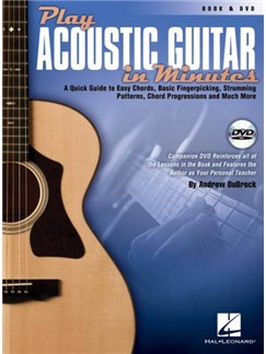 Andrew DuBrock: Play Acoustic Guitar In Minutes (Book/DVD) Books and DVDs / Videos | Guitar