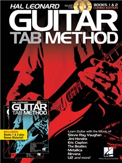 Hal Leonard Guitar Tab Method: Books 1 & 2 Combo Edition Books and CDs | Guitar Tab, Guitar