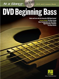 At A Glance - Beginning Bass Books and DVDs / Videos | Bass Guitar, Bass Guitar Tab