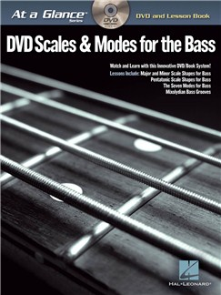 At A Glance - Scales & Modes For Bass Books and DVDs / Videos | Bass Guitar, Bass Guitar Tab