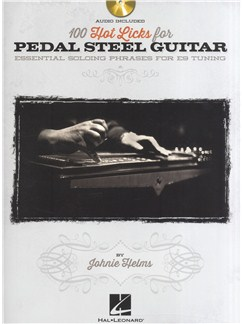 100 Hot Licks For Pedal Steel Guitar Books and CDs | Pedal Steel, Guitar