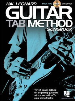 Hal Leonard Guitar Tab Method: Songbook 2 Books and CDs | Guitar, Guitar Tab