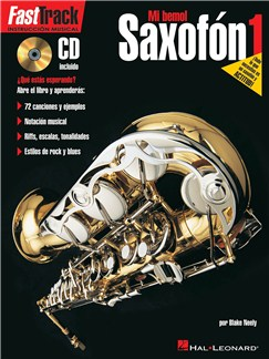 Fast Track Alto Saxophone Method: Book 1 (Spanish Edition) Books and CDs | Alto Saxophone