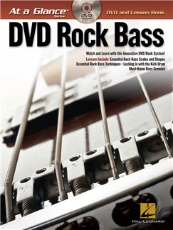 At A Glance - Rock Bass Books and DVDs / Videos | Bass Guitar, Bass Guitar Tab