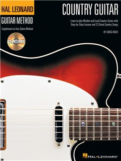 Hal Leonard Country Guitar Method Books and CDs | Guitar Tab, Guitar