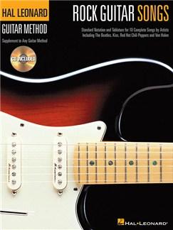 Hal Leonard Guitar Method: Rock Guitar Songs (Book/CD) Books and CDs | Guitar, Guitar Tab