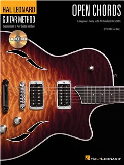 Hal Leonard Guitar Method: Open Chords Books and CDs | Guitar