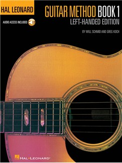 Hal Leonard Guitar Method: Book 1 - Left-Handed Edition (Book/Online Audio) Books and Digital Audio | Left-Handed Guitar