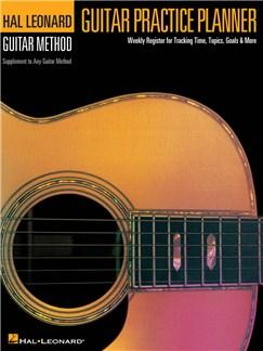 Guitar Practice Planner Books   Guitar