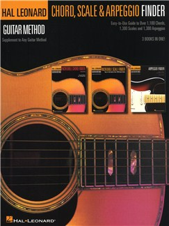 Hal Leonard Guitar Method: Guitar Chord, Scale & Arpeggio Finder Livre | Guitare