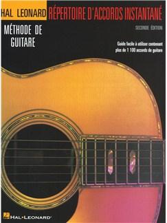 Répertoire D'Accords Instantané - Seconde Édition Livre | Guitare
