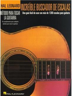 Increíble Buscador De Escalas Libro | Guitarra