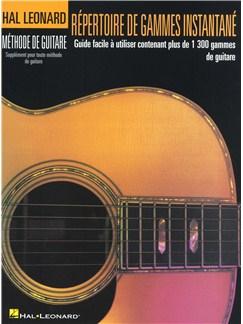 Répertoire De Gammes Instantané Livre | Guitare
