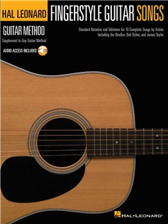 Hal Leonard Guitar Method: Fingerstyle Guitar Songs (Book/Online Audio) Books and Digital Audio | Guitar