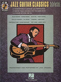 Jazz Guitar Classics Books and CDs | Guitar Tab, with chord symbols