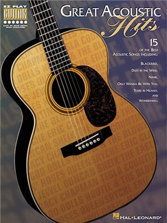 Great Acoustic Hits - E-Z Play Guitar Books | Guitar Tab