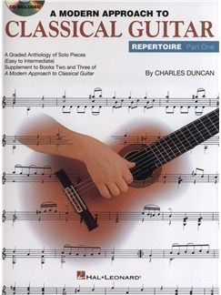 A Modern Approach to Classical Guitar: Repertoire Part One Books and CDs | Guitar, Classical Guitar