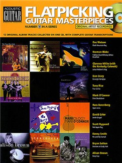 Flatpicking Guitar Masterpieces (+Cd) Books | Guitar Tab
