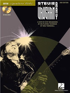 Stevie Ray Vaughan Guitar Signature Licks - 2nd Edition Books and CDs | Guitar Tab