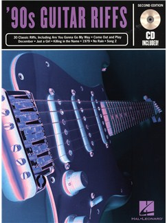 '90s Guitar Riffs - 2nd Edition Books and CDs | Guitar Tab