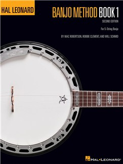 Hal Leonard Banjo Method: Book 1 - Banjo Technique Books | Banjo