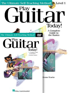 Play Guitar Today! Beginner's Pack (Guitar) Books, CDs and DVDs / Videos | Guitar Tab