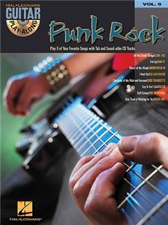 Guitar Play-Along Volume 9: Punk Rock Books and CDs | Guitar Tab