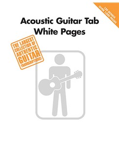 Acoustic Guitar Tab White Pages Livre | Tablature Guitare