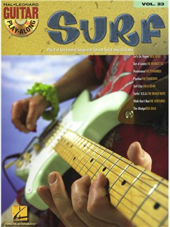 Guitar Play-Along Volume 23: Surf CD et Livre | Tablature Guitare