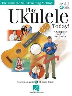 Play Ukulele Today! Level 1 (Book/Online Audio) Books and Digital Audio | Ukulele