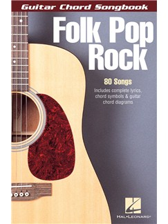 Guitar Chord Songbook: Folk Pop Rock Books | Lyrics & Chords