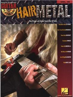 Guitar Play-Along Volume 35: Hair Metal Books and CDs | Guitar Tab