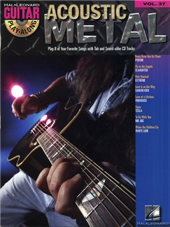 Guitar Play-Along Volume 37: Acoustic Metal Books and CDs | Guitar Tab