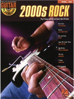 Guitar Play-Along Volume 42: 2000s Rock Books and CDs | Guitar Tab