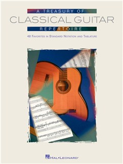 A Treasury Of Classical Guitar Repertoire Books | Guitar Tab, Classical Guitar