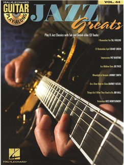 Guitar Play-Along Volume 44: Jazz Greats Books and CDs | Guitar Tab, Guitar