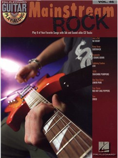 Guitar Play-Along Volume 46: Mainstream Rock Books and CDs | Guitar Tab