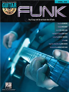 Guitar Play-Along Volume 52: Funk Books and CDs | Guitar Tab, Guitar