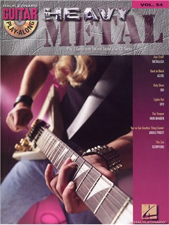 Guitar Play-Along Volume 54: Heavy Metal (Book and CD) CD et Livre | Guitare