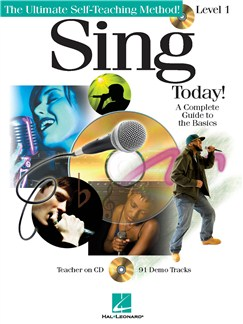 Sing Today! Level One (Book & CD) Books and CDs | Voice