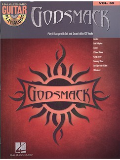 Guitar Play-Along Volume 59: Godsmack Books and CDs | Guitar Tab