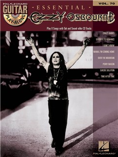 Guitar Play-Along Volume 70: Ozzy Osbourne Books and CDs | Guitar Tab
