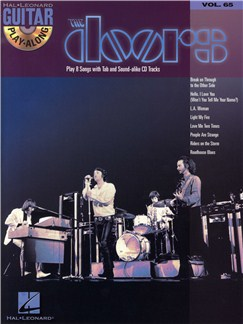 The Doors: Guitar Playalong Volume 65 (Book And CD) Books and CDs | Guitar