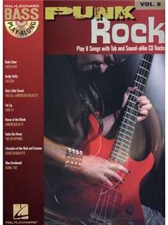 Bass Play-Along Volume 8: Punk Rock Books and CDs | Bass Guitar Tab