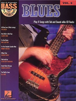 Blues Bass Play-Along (Book/CD) Books and CDs | Bass Guitar