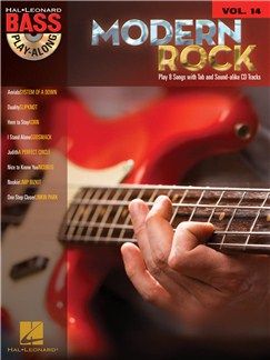 Bass Play-Along Volume 14: Modern Rock Books and CDs | Bass Guitar Tab
