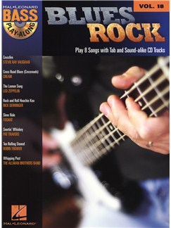 Bass Play-Along Volume 18: Blues Rock Books and CDs | Bass Guitar, Bass Guitar Tab